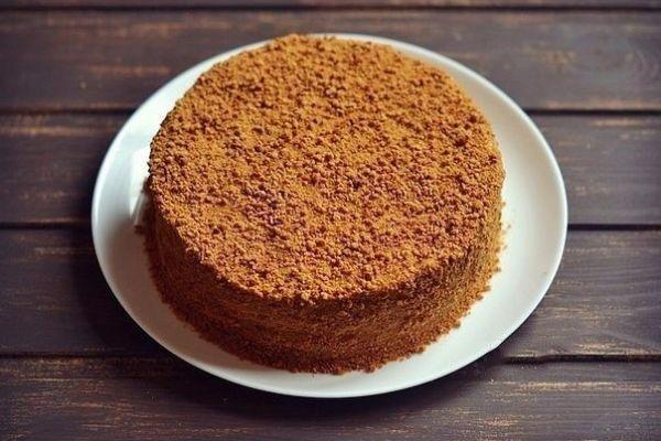 Вкусный и многим полюбившийся торт «Рыжик»