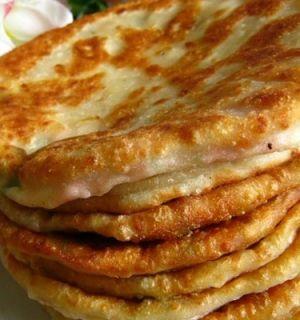Сырные лепешки за 5 минут