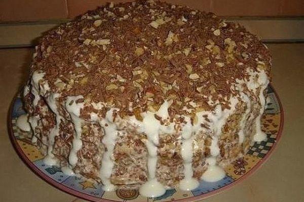 Очень простой тортик «Выпускной»