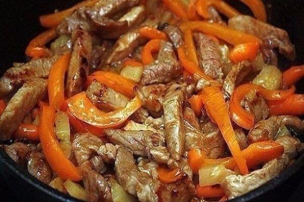 Мясо «по-тайски»