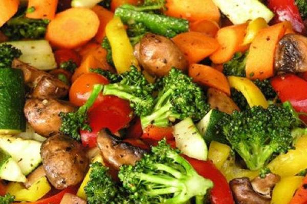 Готовим вторые блюда с добавлением овощей полезных для диабетиков