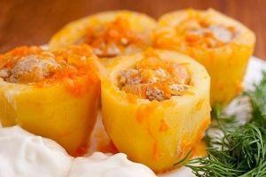 Оригинальное блюдо из картошки