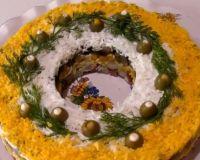 Пикантный салат «Праздничный»: удивите гостей