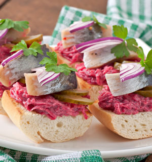Самые вкусные бутерброды на закуску