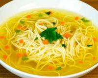 Вегетарианский суп-лапша