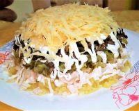 Шикарный яркий салат на праздничный стол