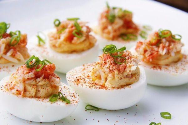 ФАРШИРОВАННЫЕ ЯЙЦА🍅  20 самых вкусных рецептов