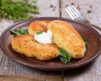 Картофельные зразы с мясом и грибами