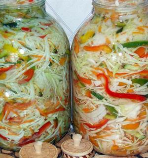 Заготавливаем капустку на зиму— 7 рецептов