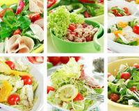 Шесть необычайно вкусных салатов