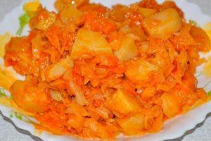 Три превосходных рецепта  из картошки: пюре с тыквой, розочки, цимес