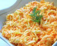 Очень вкусный морковный салатик