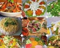 Шесть интересных салатов для диабетиков