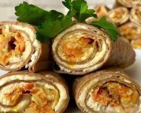 Печеночные трубочки— самая оригинальная закуска на праздничный стол