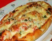 Пицца-батон
