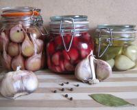 Маринованный чеснок: лучшие рецепты с зубчиками, головками, стрелками