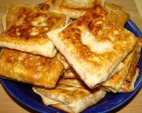 Быстрые пирожки из лаваша