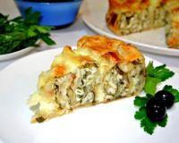 Супер быстрый, слоеный пирог— «улитка» с сырной начинкой