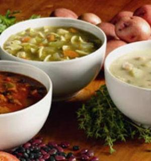 Пять рецептов первых блюд при заболевании кишечника
