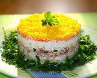 Наш любимый салат «Мимоза»