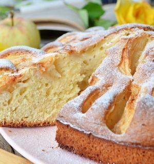Яблочный пирог из детства