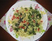 Летний салат с цветной капустой