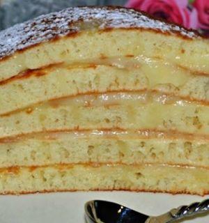 Торт «Пушинка» на сковороде😍