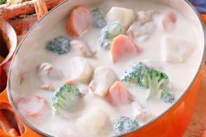 Готовим овощи с кисломолочными продуктами