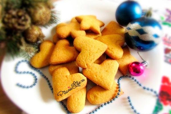 Печеньки из кукурузной муки и вкусно и полезно!