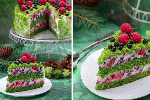 Торт «Лесной мох»— новинка наступающего 2019!
