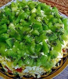 Салат «Изумрудная россыпь»