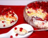Салат «Красная шапочка»  на праздничный стол