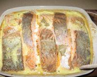Рыба, запеченная в сметане