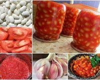 Фасоль в томатном соусе по-домашнему