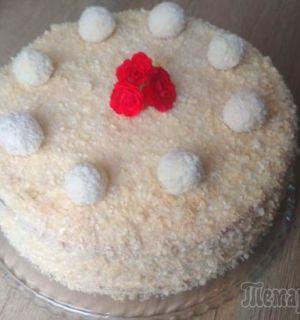 Самый кокосовый торт! Невесомый, нежный и ароматный!