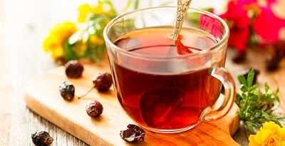 чай из шиповника