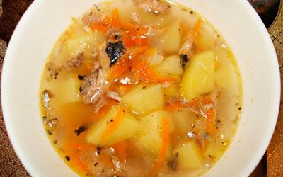 суп с селедкой