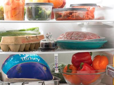шкаф с продуктами