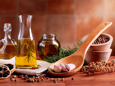 специи и масло