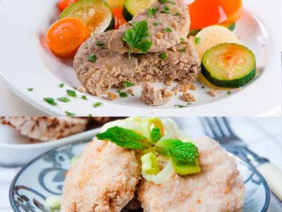 два блюда из мяса