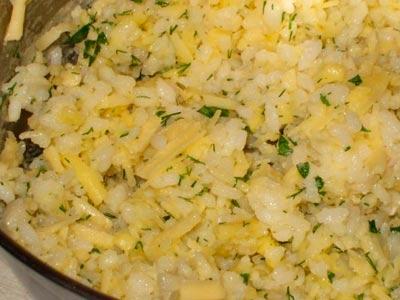 отварной рис с сыром