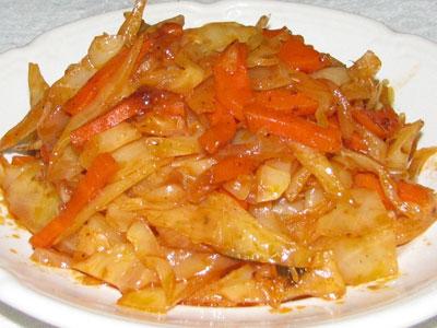 кольраби с морковью