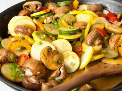 Рецепты блюд из овощей