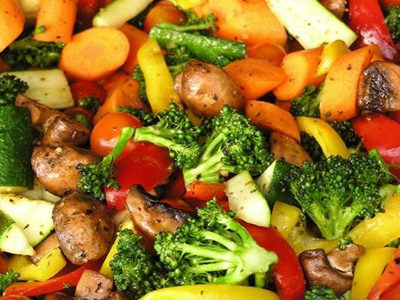 блюда из овощи