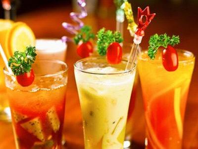 Напитки и коктейли