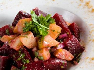 Свекольно-картофельный салатик