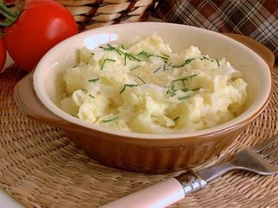 Пюре из капусты и картофеля