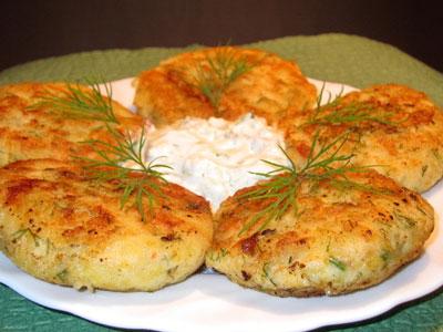 Пюре из рыбы с картофелем