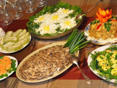 салаты и закуски