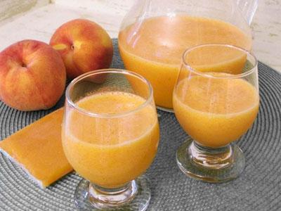 Персиковый кисель